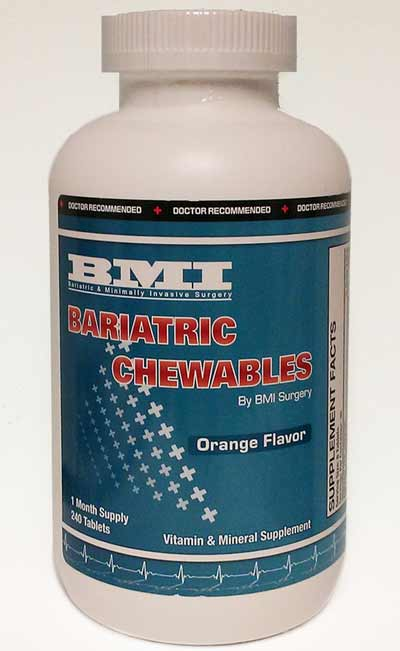 Bariatric Chewables - Orange